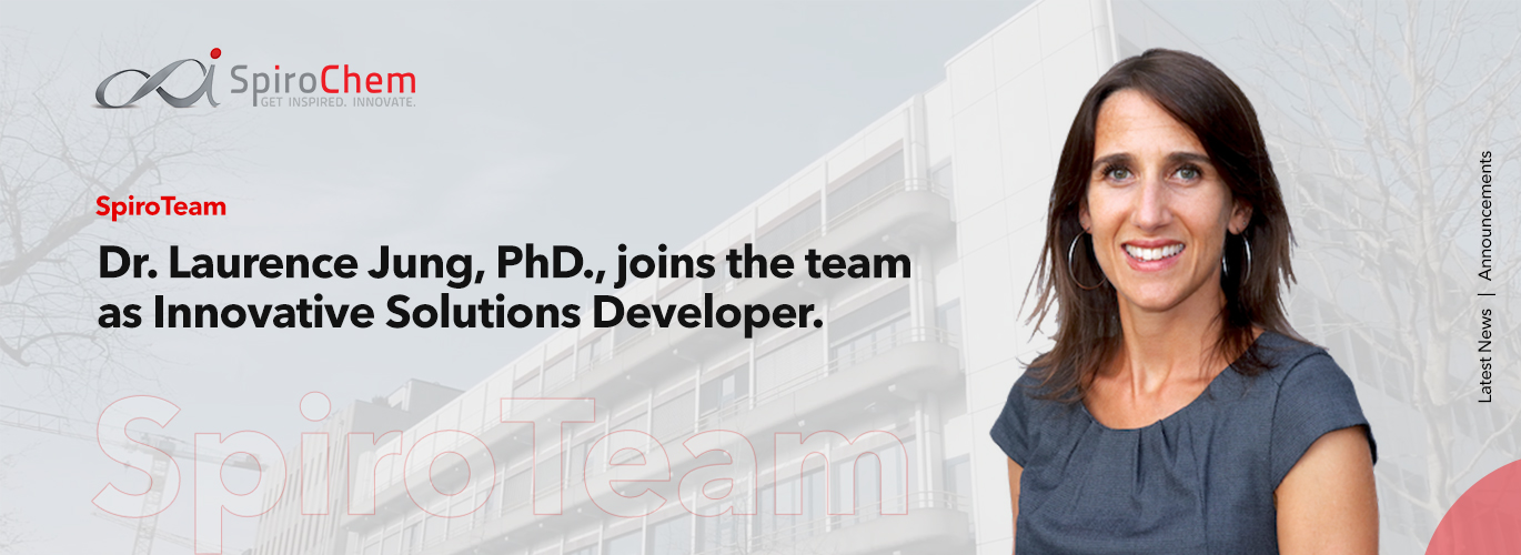 Dr. Laurence Jung, PhD., joins the team as Innovative Solutions Developer